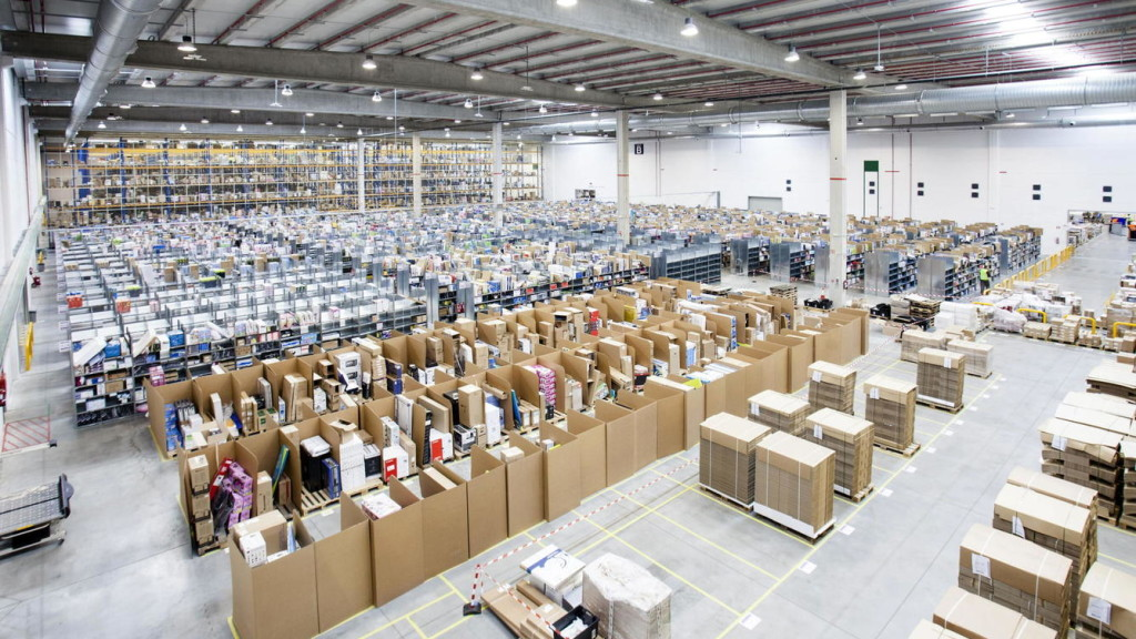 ergonomia en centros logisticos