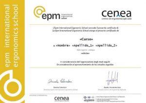diploma cursos ergonomia cenea online